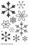 My Favorite Things Snowflake Splendor Clear Stamps
