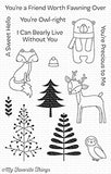 My Favorite Things Friends in the Forest Clear Stamps