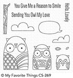 Owl My Love Clear Stamps