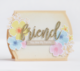 Anything-but-Basic Friendship Clear Stamps