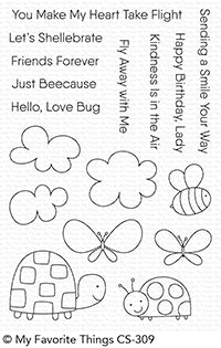 Love Bugs Stamp