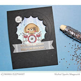 Mama Elephant - Rock and Paws Stamps