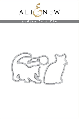 Modern Cats Die Set