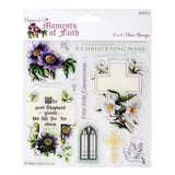 Papermanis 6X6 CLEAR STAMPS - MOMENTS OF FAITH