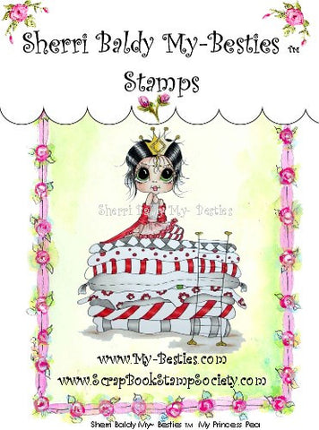 My-Besties My Princess Pea Clear Stamp