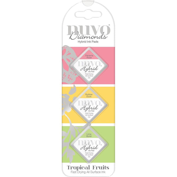 Nuvo Diamond Hybrid Ink Pads - Tropical Fruits