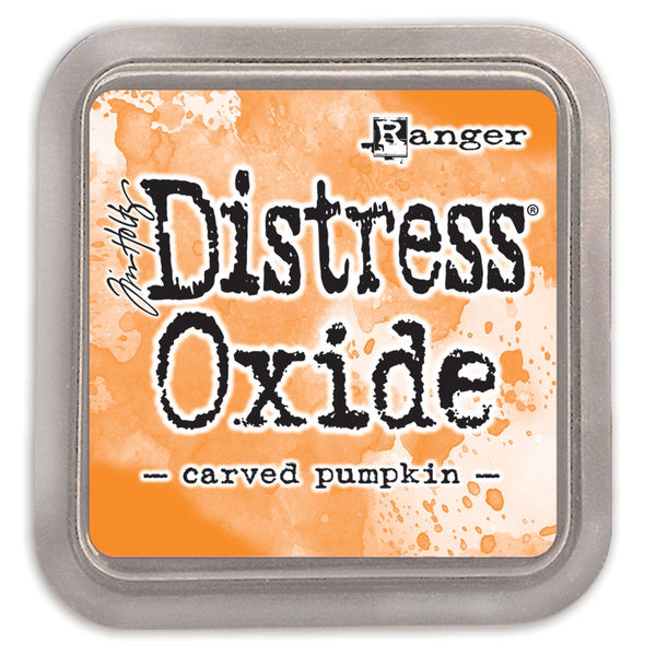 Distress Oxide Ink Pad CARVED PUMPKIN