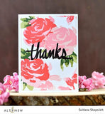 Painted Rose Stamp - YourHobbyMarket