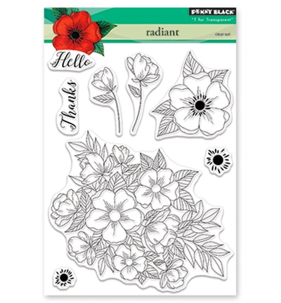 Penny Black Radiant Clear  Stamp