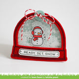 Ready, Set, Snow Stamps