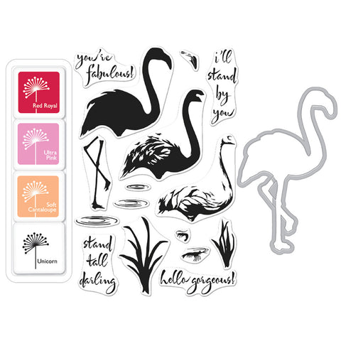 Color Layering Flamingo Bundle
