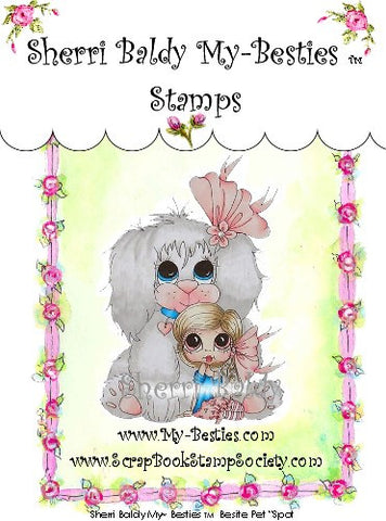 "My-Besties Besite Pet ""Spot"" Clear Stamp"