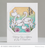 Splendid Swans Clear Stamps