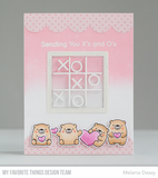 X's and O's Clear Stamps