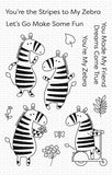 Zippy Zebras Stamp