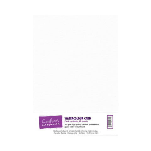 Crafter's Companion Watercolour Paper - 15 Vel