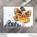 Stamping Bella  Blanche the Butterfly