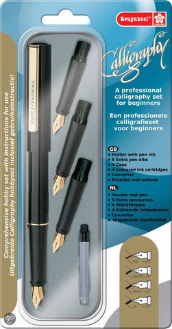 Bruynzeel Professional Calligraphy Set For Beginners
