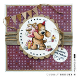 Cuddly Buddly Clear Stamps - Birthday Wishes