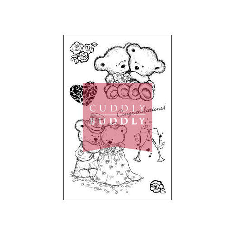 Cuddly Buddly Clear Stamps - Love is in the Air