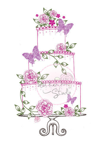 Wild Rose - Wedding Cake