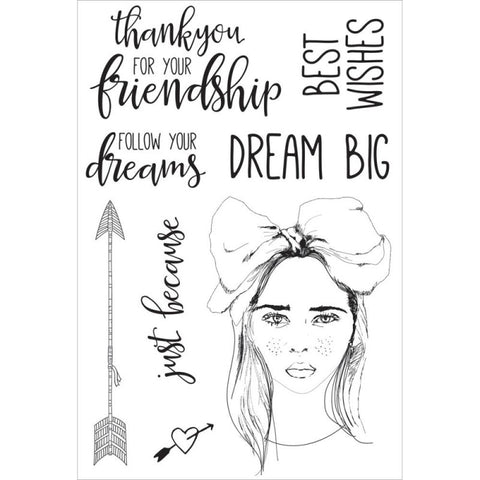 Boho Dreams Clear Stamps