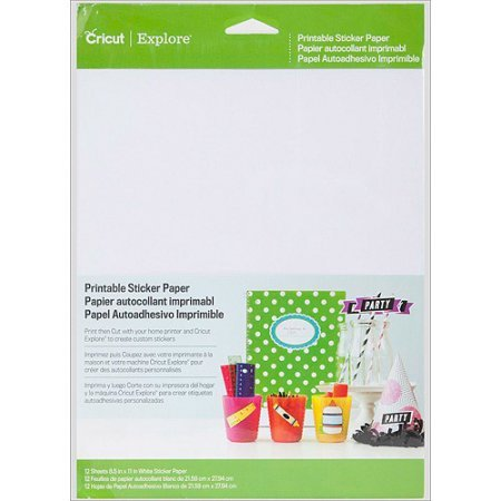 Cricut Printable Sticker Paper