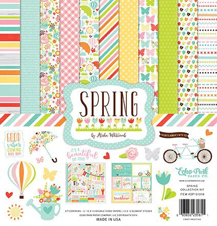 Echo Park Spring 12x12 Inch Collection Kit - YourHobbyMarket