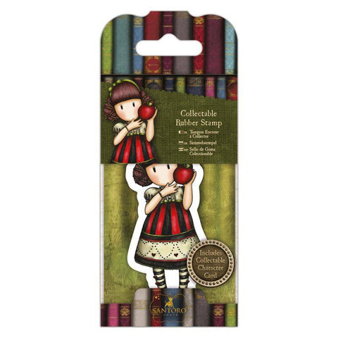 Gorjuss Mini Rubber Stamp - Dear Apple