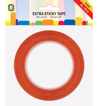 Extra Sticky / Tacky Tape XL 25m x 6 mm