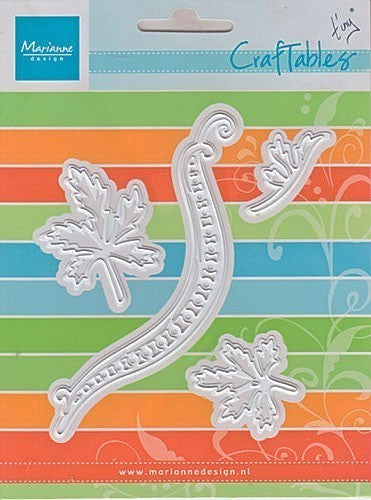 Marianne Design Craftables - Tiny`s Swirls & Leaves 1