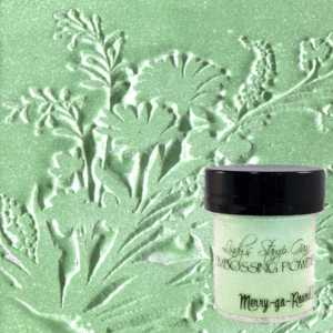 Lindy's Stamp Gang Merry Go Round Green Embossing Powder