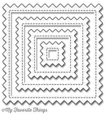 Die-Namics Stitch Pinking Edges Square Cover-Up