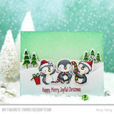 My Favorite Things Sweet Holiday Penguins Clear Stamps