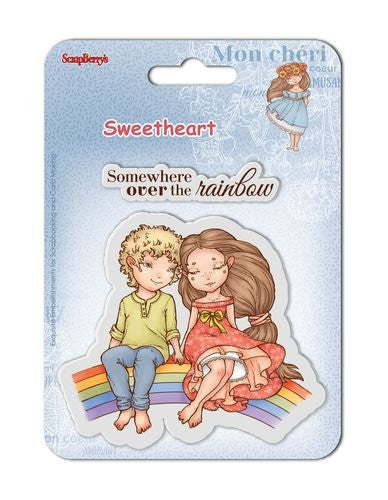 Sweetheart No. 4 Set Of Clear Rubber Stamps