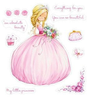 ScrapBerry's: Little Princess  Clear Stamps