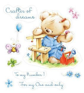 My Little Bear-Craftsman Clear Stamps