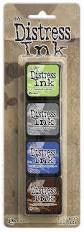 Tim Holtz Distress Mini Ink Kit 14