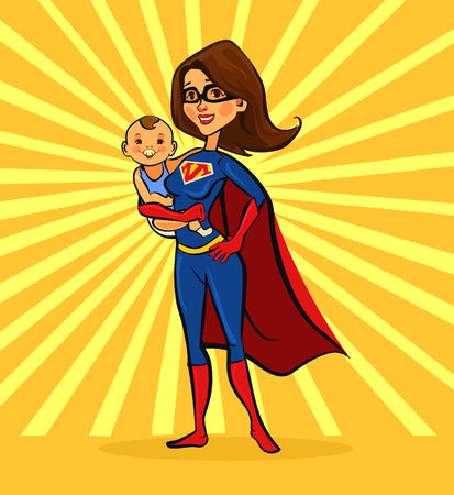 "Redefining the concept of ""Super Mom"""