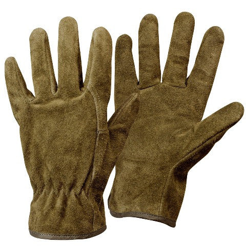 Calfskin Work Gloves - Rostaing GC25K - HearthWorld.com