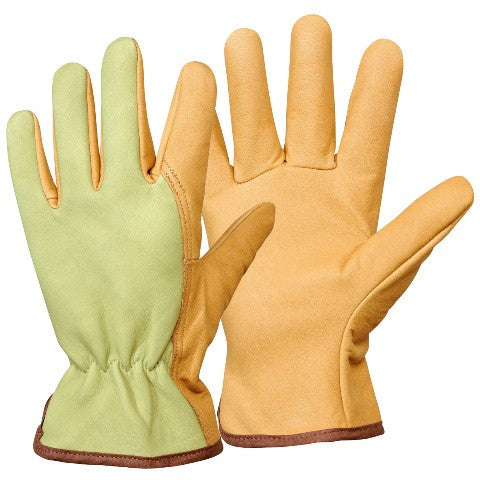 Calfskin Leather Work Gloves - Rostaing GT6S - HearthWorld.com