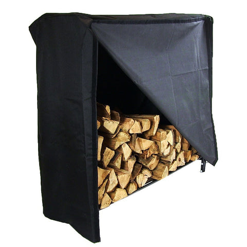 "Cover for 48"" Decorative Firewood Log Rack - HearthWorld.com"