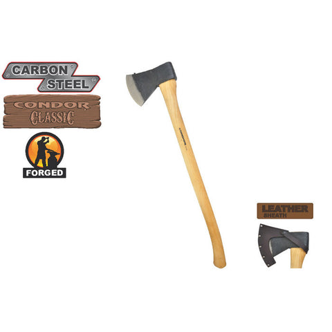 Sweedish Pattern Axe - HearthWorld.com