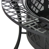"Diamond Weave 40"" Diameter Fire Pit - HearthWorld.com"