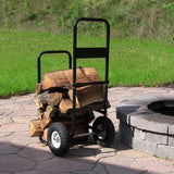 Firewood Log Cart with Cover - HearthWorld.com