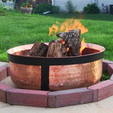 Hand Hammered Copper Fire Pit - HearthWorld.com