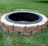 "DYI 24"" Heavy Duty Fire Pit Rim"