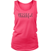 CRAZY Thankful - 2 Corinthians 9:15:    (Tees, Tanks & Hoodies) (Ladies)