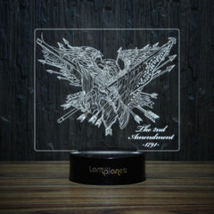 2nd Amendment Eagle-3D Lamp-Lamplanet
