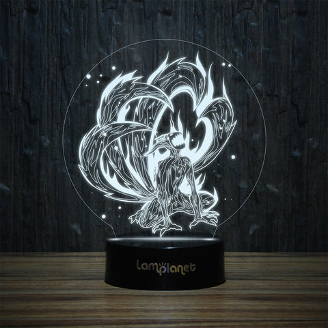 3D-121 3D LED Illusion Lamp-3D Lamp-Lamplanet